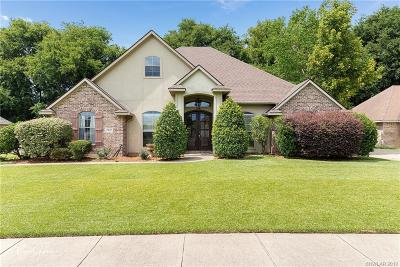 Bossier City Single Family Home For Sale: 1813 Castlewood Drive