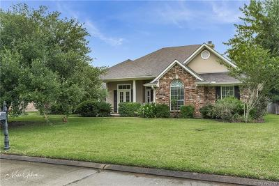 Bossier City Single Family Home For Sale: 5730 Lakeside Drive