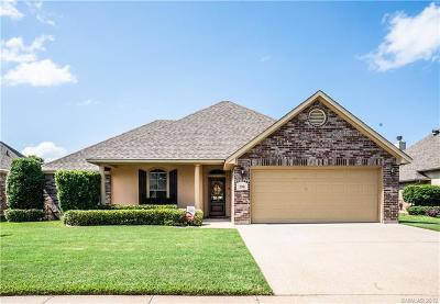 Bossier City Single Family Home For Sale: 208 Antietam Drive