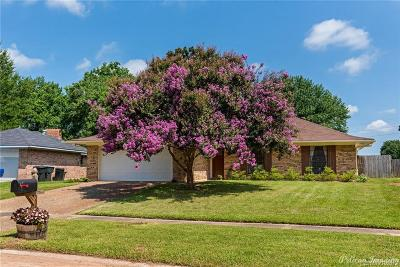 Bossier City Single Family Home For Sale: 5311 Hollyhock Lane