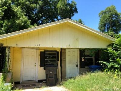 Shreveport Single Family Home For Sale: 228 Gregg E