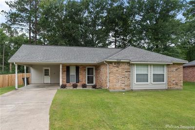 Keithville Single Family Home For Sale: 6531 Grawood Drive