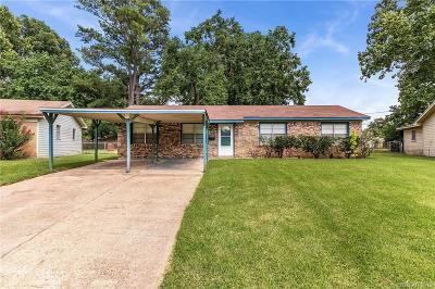 Bossier City Single Family Home For Sale: 5305 Jonquil