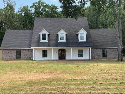 Benton Single Family Home For Sale: 609 Old Plain Dealing Road
