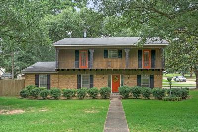 Shreveport Single Family Home For Sale: 9520 Baird Road