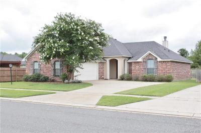 Bossier City LA Single Family Home For Sale: $215,000