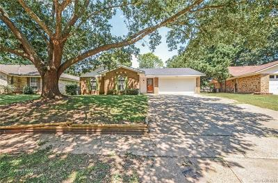 Bossier City Single Family Home For Sale: 5321 Hollyhock Lane