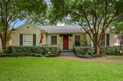 Shreveport Single Family Home For Sale: 533 Dudley Drive