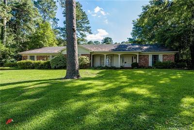 Shreveport Single Family Home For Sale: 7124 E Ridge Drive