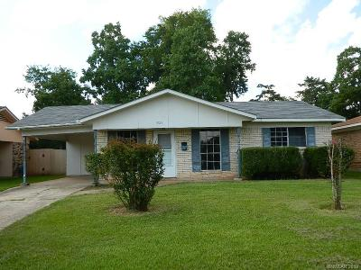 Bossier City Single Family Home For Sale: 1923 Orbit Drive