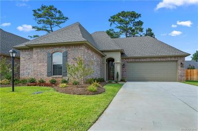 Shreveport Single Family Home For Sale: 252 Evangeline Creek