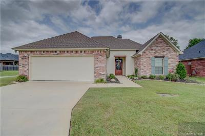 Shreveport Single Family Home For Sale: 2129 Burgundy Ridge Drive