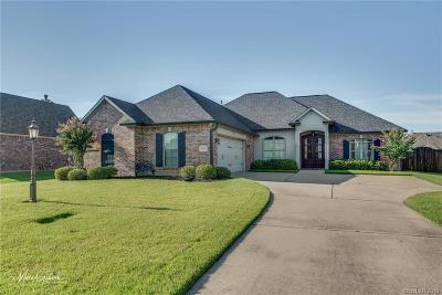 Bossier City LA Single Family Home For Sale: $295,000