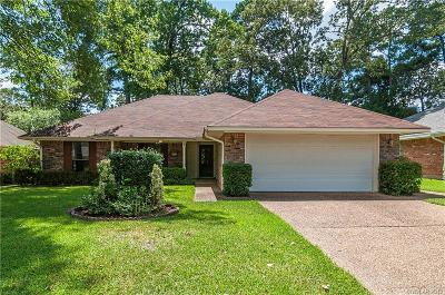 Shreveport Single Family Home For Sale: 8826 Chadwick Drive