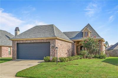 Shreveport Single Family Home For Sale: 273 Evangeline Creek Drive