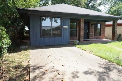Shreveport LA Single Family Home For Sale: $79,000
