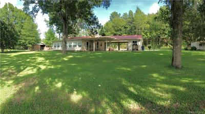Ringgold LA Single Family Home For Sale: $134,900