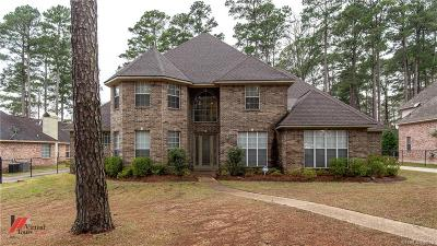 Caddo Parish Single Family Home For Sale: 9654 Norris Ferry Road