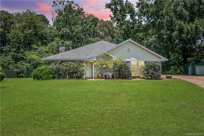 Haughton Single Family Home For Sale: 8052 Fernwood Circle