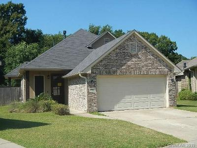 Bossier City LA Single Family Home For Sale: $177,500