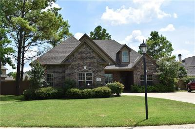 Caddo Parish Single Family Home For Sale: 9440 Milbank Drive