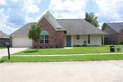 Haughton Single Family Home Active Under Contract: 512 Amberwood Drive