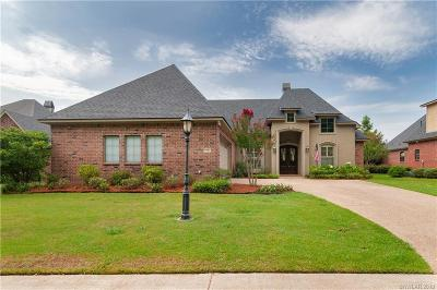 Caddo Parish Single Family Home For Sale: 123 Eagle Bend Way