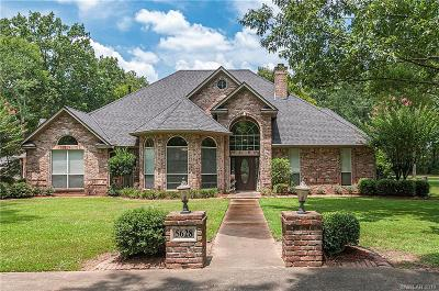 Caddo Parish Single Family Home For Sale: 5628 Woodhaven Drive