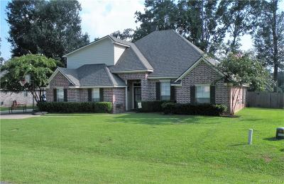 Haughton LA Single Family Home For Sale: $284,500