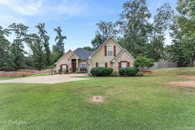 Haughton Single Family Home For Sale: 2127 Forest Hills Boulevard