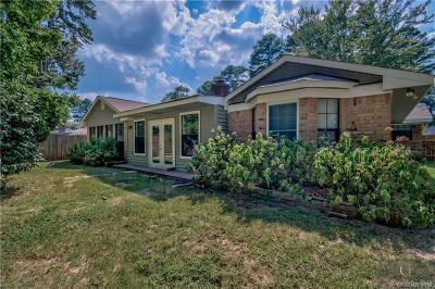 Haughton Single Family Home For Sale: 2624 Southcrest Drive