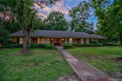 Bossier City Single Family Home For Sale: 2903 Swan Lake Road