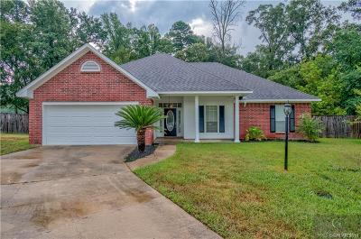 Haughton Single Family Home For Sale: 110 Olive Street