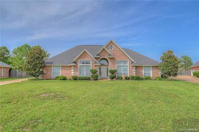 Bossier City Single Family Home For Sale: 5726 Lake Side Drive