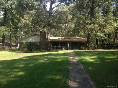 Webster Parish Single Family Home For Sale: 674 Moss Point Road