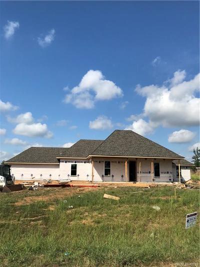 Haughton Single Family Home For Sale: 804 Limestone