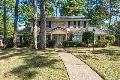 Caddo Parish Single Family Home For Sale: 524 Northampton Drive