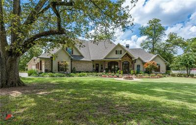 Caddo Parish Single Family Home For Sale: 9942 Pecan Place