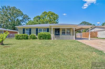Bossier City Single Family Home For Sale: 2521 Ashland Avenue