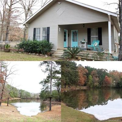 Webster Parish Single Family Home For Sale: 116 Gas Plant Road