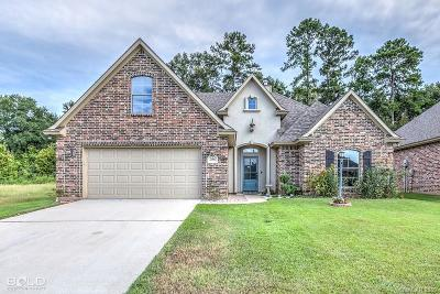 Haughton Single Family Home For Sale: 356 Wood Springs