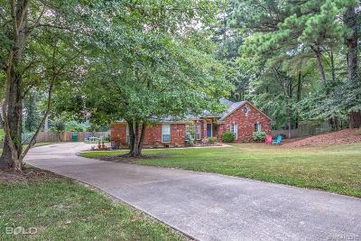 Haughton Single Family Home For Sale: 2825 Heatherbrook Drive
