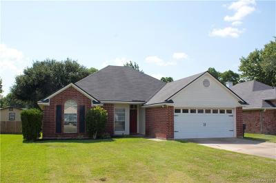 Bossier City Single Family Home For Sale: 3117 Stockwell Road