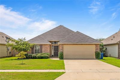 Bossier City Single Family Home For Sale: 3917 White Lake Drive