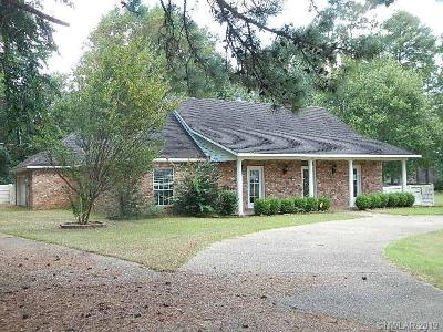 Mansfield LA Single Family Home For Sale: $206,000