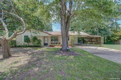 Shreveport Single Family Home For Sale: 9120 Laurie Lane