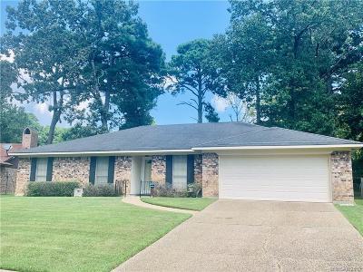 Shreveport Single Family Home For Sale: 8843 Kensington Drive