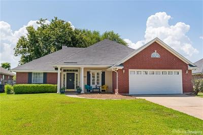 Bossier City Single Family Home For Sale: 6242 W Oxbow Loop