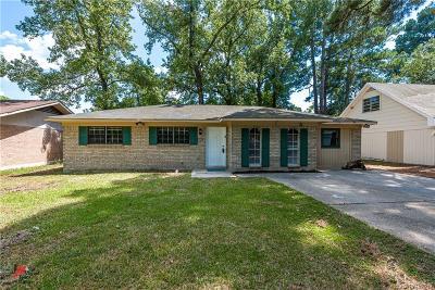 Shreveport Single Family Home For Sale: 3529 Colquitt Road