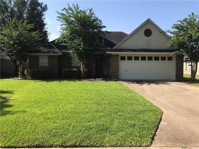 Bossier City LA Single Family Home For Sale: $165,878